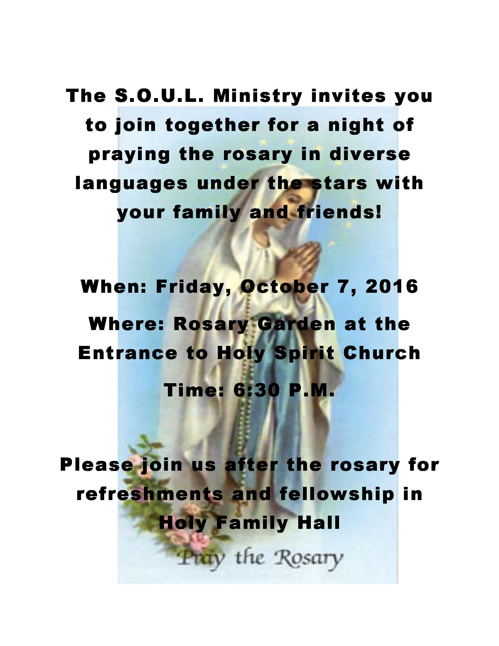 Rosary Night Flyer