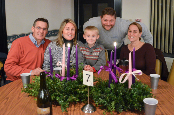 Advent Wreath Dinner photo