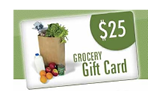 grocery gift card image