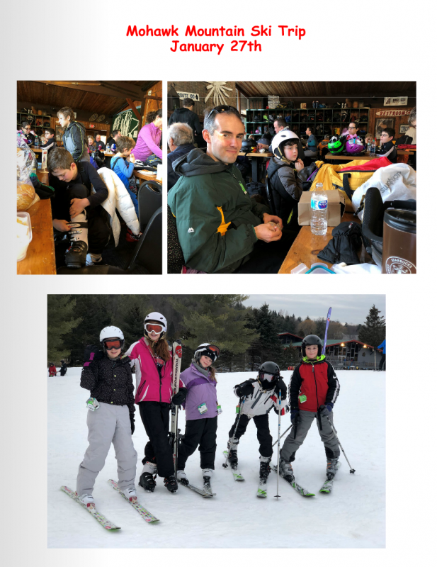 2018 Youth Group Ski Trip